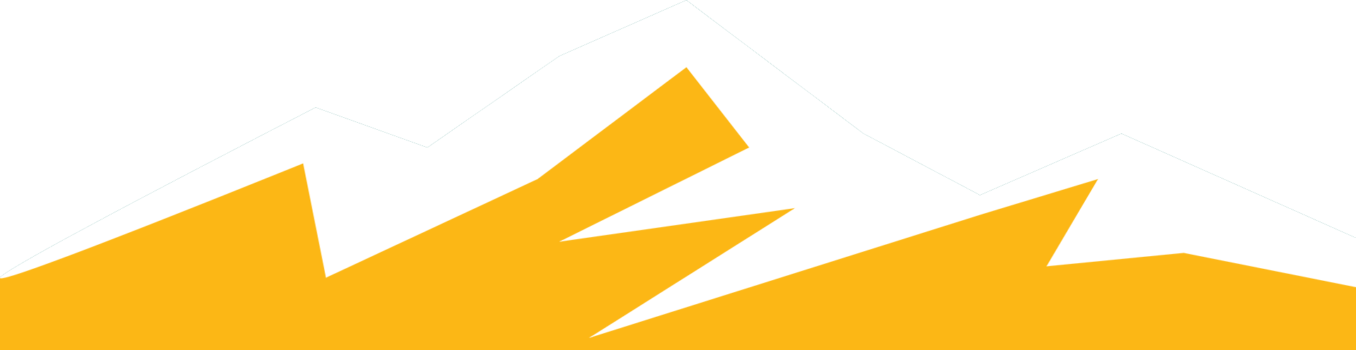 montagne jaune bleu
